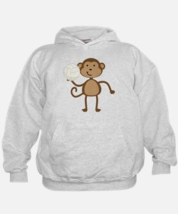 Volleyball Monkey Hoodie