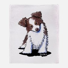 Red Australian Shepherd Throw Blanket