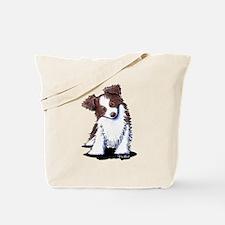 Red Australian Shepherd Tote Bag
