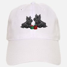 Scottie Christmas Baseball Baseball Cap