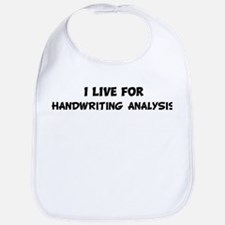 Live For HANDWRITING ANALYSIS Bib