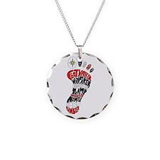 Footwalker Necklace