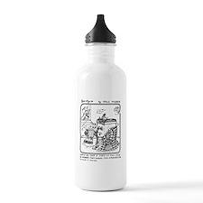 Too Embarrassed Water Bottle