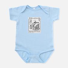 Too Embarrassed Infant Bodysuit