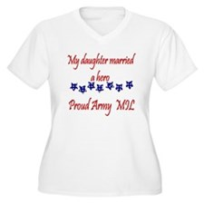 Cute Army mother T-Shirt