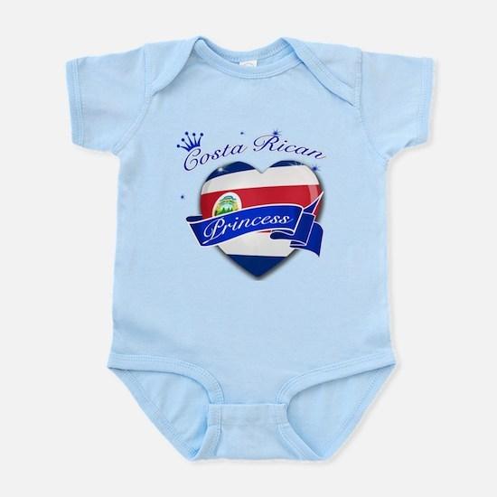 Costa rican Princess Infant Bodysuit