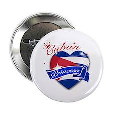 """Cuban Princess 2.25"""" Button (100 pack)"""