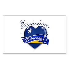 Curacaon Princess Decal