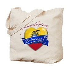 Ecuadorian Princess Tote Bag