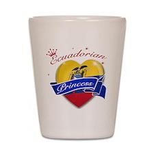 Ecuadorian Princess Shot Glass