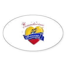 Ecuadorian Princess Decal