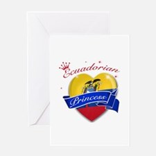 Ecuadorian Princess Greeting Card