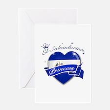 El Salvadorian Princess Greeting Card
