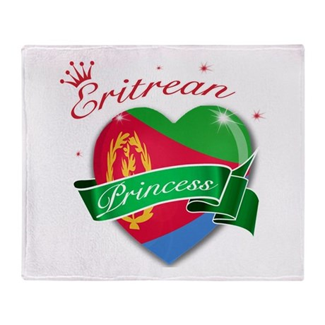 Eritrean Princess Throw Blanket
