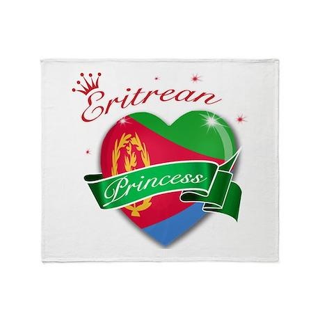 Eritrean Princess Throw Blanket