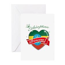 Ethiopian Princess Greeting Cards (Pk of 20)