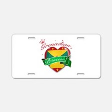 Grenadian Princess Aluminum License Plate