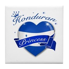Honduran Princess Tile Coaster