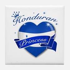 Honduran Princess Tile Coaster