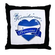 Honduran Princess Throw Pillow
