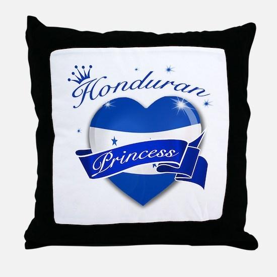 Honduran Princess Throw Pillow