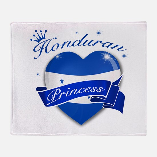 Honduran Princess Throw Blanket