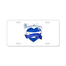 Honduran Princess Aluminum License Plate
