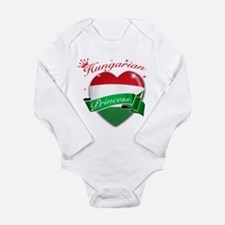 Hungarian Princess Long Sleeve Infant Bodysuit