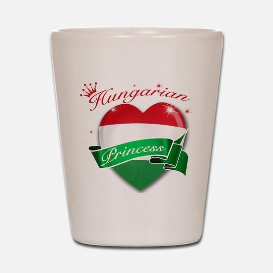 Hungarian Princess Shot Glass