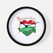 Hungarian Princess Wall Clock