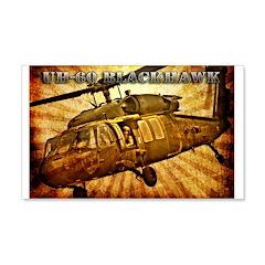 UH-60 Blackhawk 22x14 Wall Peel