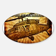UH-60 Blackhawk Sticker (Oval)