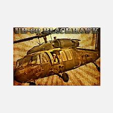 UH-60 Blackhawk Rectangle Magnet (100 pack)