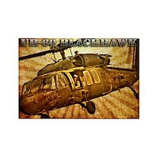 UH-60 Blackhawk Rectangle Magnet