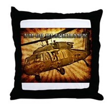 UH-60 Blackhawk Throw Pillow