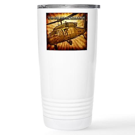 UH-60 Blackhawk Stainless Steel Travel Mug
