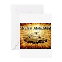 M1A1 Abrams Greeting Card