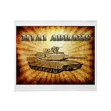 M1A1 Abrams Throw Blanket