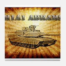 M1A1 Abrams Tile Coaster