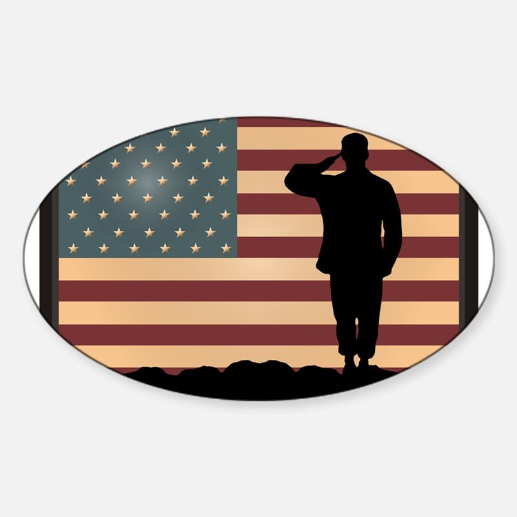 Rocky Salute Decal