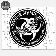 Zombie Squad Ring Patch Revis Puzzle