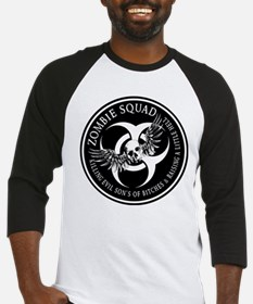 Zombie Squad Ring Patch Revis Baseball Jersey