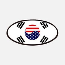 Korean-American Flag Patches