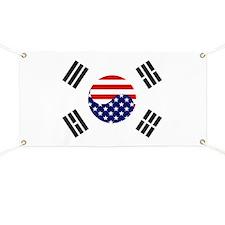 Korean-American Flag Banner