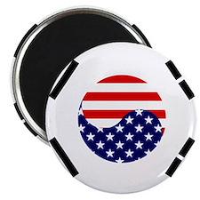 Korean-American Flag Magnet