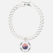 Korean-American Flag Bracelet
