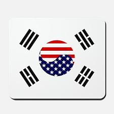 Korean-American Flag Mousepad