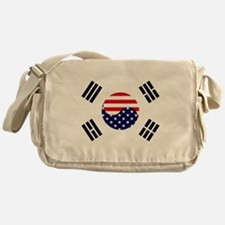 Korean-American Flag Messenger Bag