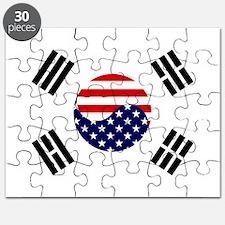 Korean-American Flag Puzzle