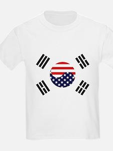 Korean-American Flag T-Shirt